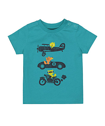 Mothercare Vehicle T-Shirt