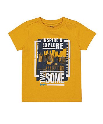 Mothercare City Scene T-Shirt