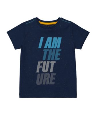 Mothercare Millenium Street Navy Future Nep Short Sleeve T-Shirt