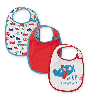 Mothercare Transport Bibs- 3 Pack