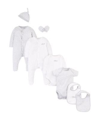 Mothercare Continuity Greys Starter Set - 8 Pieces Set