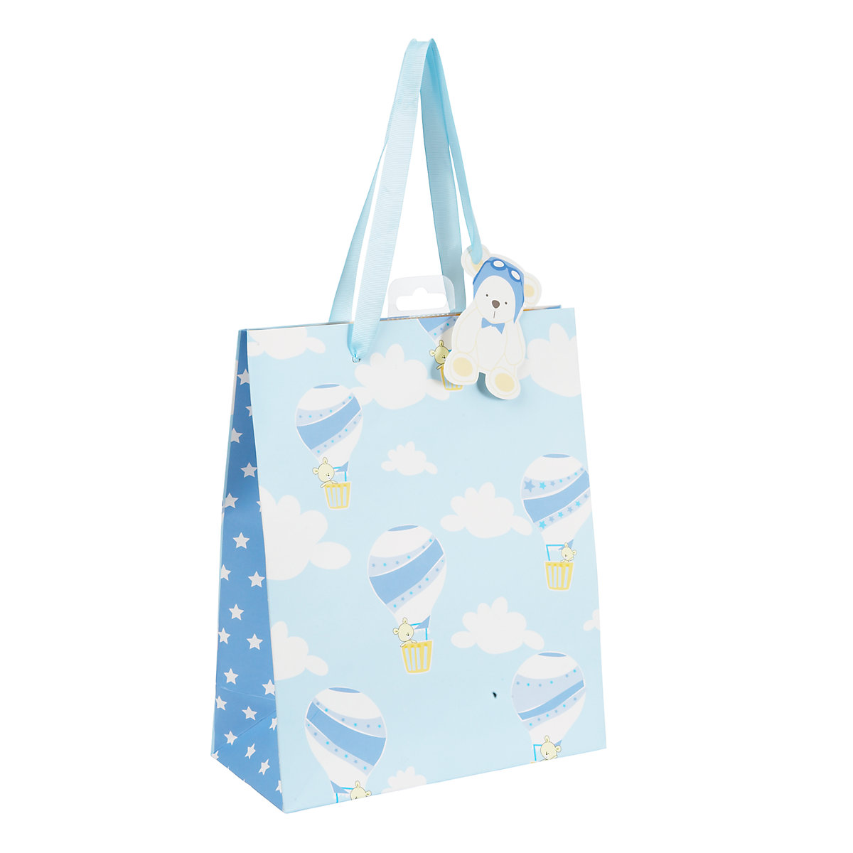 Mothercare Hot Air Balloon Blue Gift Bag - Hot Air Balloon Gifts