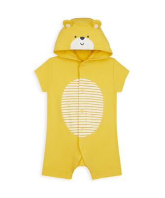 Mothercare Boys Mummy & Daddy Novelty Bear Romper