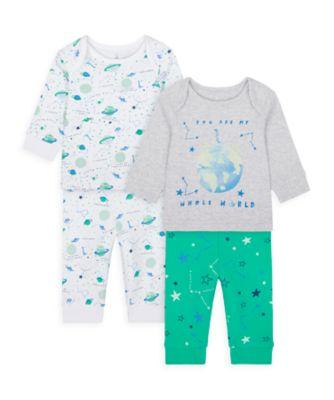 Mothercare Boys Me & My World Pyjamas - 2 Pack