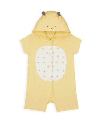 Mothercare Girls Mummy & Daddy Bee Novelty Romper