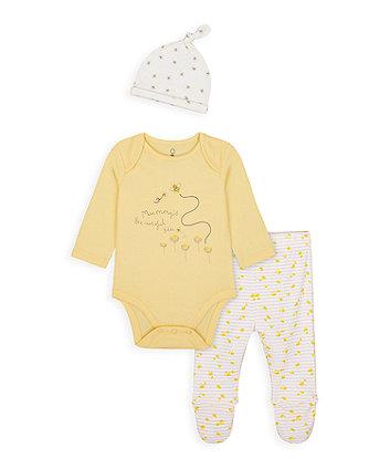 Mothercare Little Bee Three-Piece Set