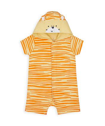 Mothercare Tiger Novelty Romper