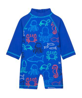 Mothercare Swimwear-Under The Sea Allover Print Sunsafe