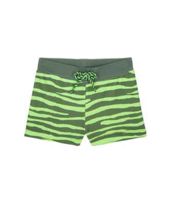 Mothercare Swimwear-Tropic Cool Tiger Print Green And Black Trunkie