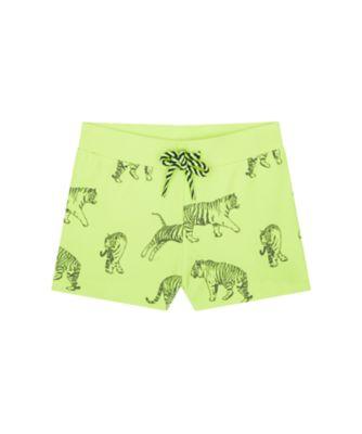 Mothercare Swimwear-Tropic Cool Yellow Animal Print Aop Trunkie