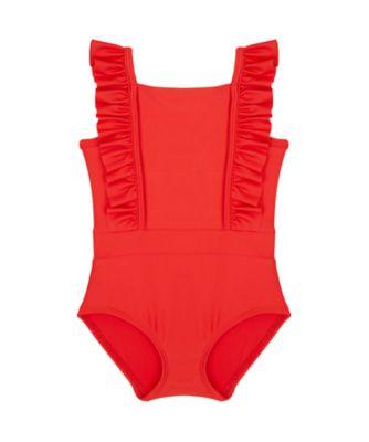 Mothercare Swimwear-Regatta Beach Red And White Spot Swimsuit