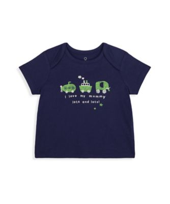 Mothercare NB Boys Car Short Sleeve Uber T- Shirt