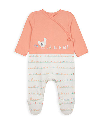 Little Duck Mock Top And Leggings All In One [SS21]