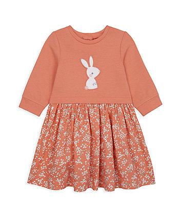 Mothercare Bunny Twofer Dress