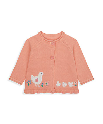 Mothercare Little Duck Knitted Cardigan