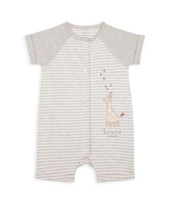 Mothercare NB My First Unisex Giraffe Romper