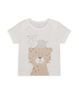 Mothercare NB My First Unisex Leopard Uber T-Shirt