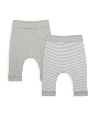 Mothercare NB My First Unisex Joggers - 2 Pack