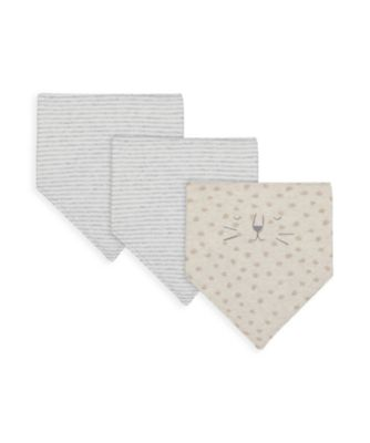 Mothercare NB My First Unisex Bibs - 3 Pack