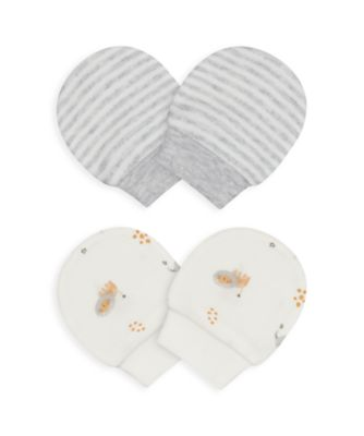 Mothercare NB My First Unisex Mitts - 2 Pack