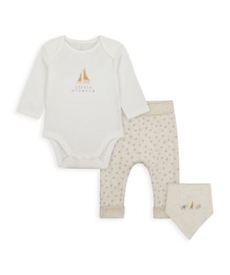 Mothercare NB My First Unisex Il - 3 Pieces Set
