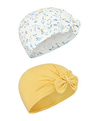 Mothercare Spring Bird Hats - 2 Pack