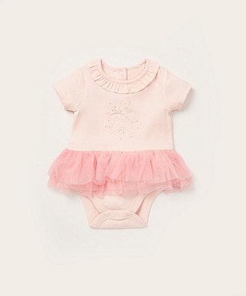 Mothercare Pink Tutu Bodysuit