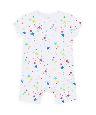 Mothercare Boys Wardrobe Essentials Essentials Multi Star Romper