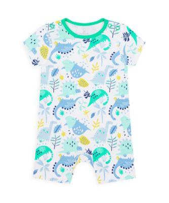 Mothercare Boys Wardrobe Essentials Essentials Dinosaur Romper