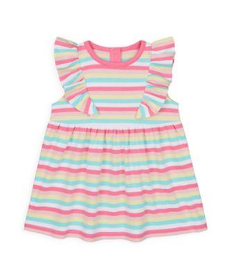 Mothercare Girls Wardrobe Essentials Stripe Dress