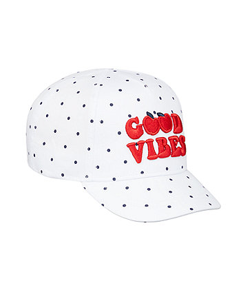 Mothercare Good Vibes Cap
