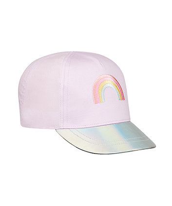 Mothercare Rainbow Reversible-Sequin Cap
