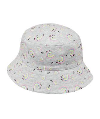 Mothercare Girls Rainbow Print Fisherman Hat