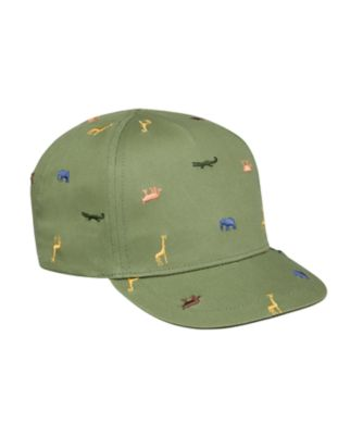 Mothercare Boys Khaki Safari Cap