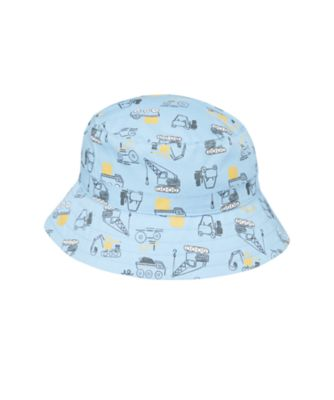 Mothercare Boys Vehicle Print Fisherman Hat