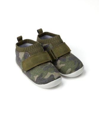 Mothercare Baby Boy Roar Camo Crawler - First Walker