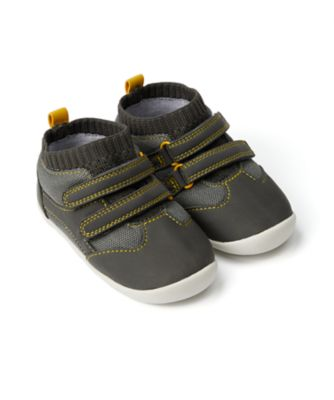 Mothercare Baby Boy Navy And White Trainer Crawler - First Walker