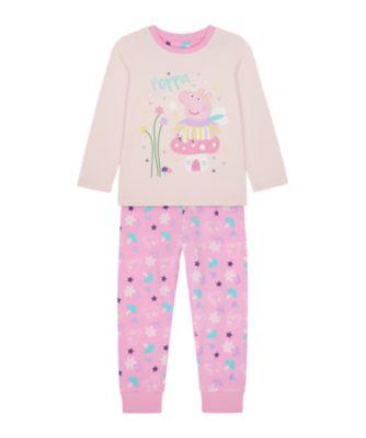 Mothercare Girls Fairy Peppa Pyjamas