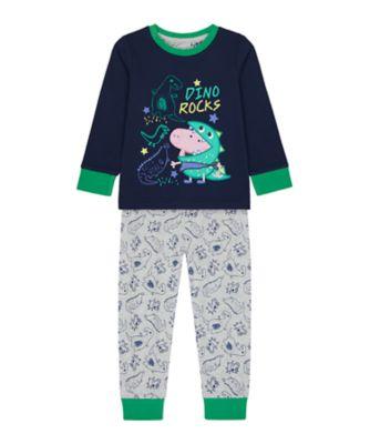 Mothercare Boys Dinosaur Rocks George Pyjamas