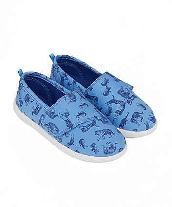 Mothercare Safari Canvas Shoes