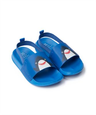 Mothercare Boys Shark Slider Sandal