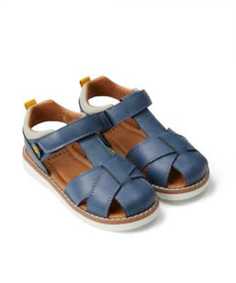 Mothercare Boys Modern Navy Fisherman Sandal