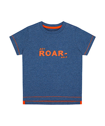 Mothercare Ad-Roar-Able T-Shirt