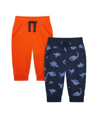 Mothercare Denim Dino Joggers - 2 Pack
