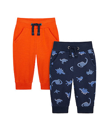 Mothercare Dino Joggers - 2 Pack
