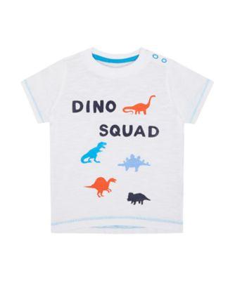 Mothercare Denim Dino Squad Short Sleeve T-Shirt