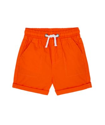 Mothercare Denim Dino Orange Poplin Short