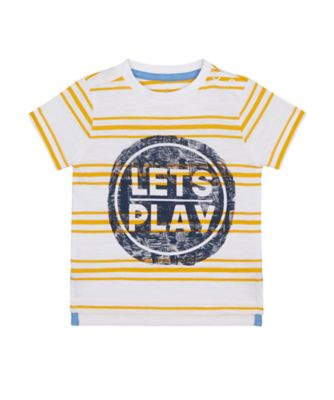 Mothercare Build It Lets Play Short Sleeve T-Shirt