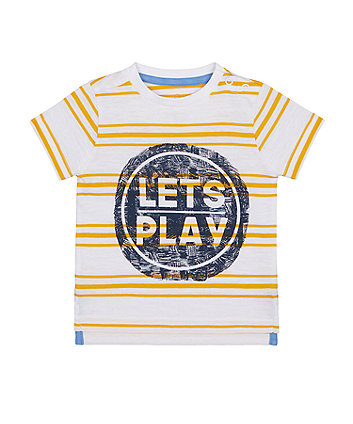 Mothercare Let's Play T-Shirt