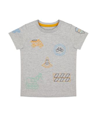 Mothercare Build It Multi Graphic Short Sleeve T-Shirt